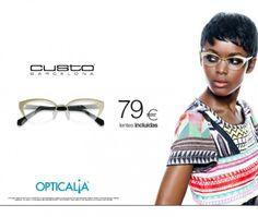 OPTICALIA - Armação Custo Barcelona com lentes incluídas desde 79€ - promoção válida até 28/02/2014