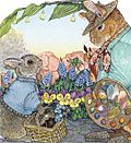 Jan Brett Easter Cards, cute and can create personal greeting!