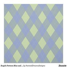 http://www.zazzle.com/argyle_pattern_blue_and_yellow_fabric-256406809310748512