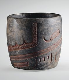 BOL À DÉCOR GRAVÉ  CULTURE OLMÈQUE LAS BOCAS, MEXIQUE PRÉCLASSIQUE, 900-600 AV. J.-C.