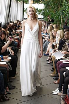 Robe de mariée longue Oliver - Automne Hiver 2015 - New York - Delphine Manivet 2450€
