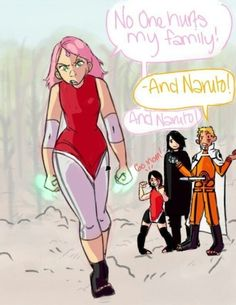 I don't really like how they were paired off and I hate the next generation, but I thought this was cute with the whole Naruto inserting himself.<< agreed, I just think Naruto and Sakura would have been a better pairing :/ Anime Naruto, Naruto Comic, Naruto And Sasuke, Naruto Uzumaki, Naruto Cute, Sarada Uchiha, Sakura And Sasuke, Sasunaru, Otaku Anime