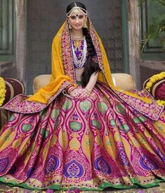 Your Favorite Banarasi Lehengas Under Not So Much Costly Brides Your Favorite Banarasi Lehengas Under Not So Much Costly Brides<br> Here are some of the best shops in India from where you can buy Banarasi lehenga in nearly affordable price. Banarasi Lehenga, Lehenga Blouse, Lehnga Dress, Gown Dress, Lehenga Color Combinations, Color Combos, Lehenga Pattern, Lehenga Images, Orange Lehenga