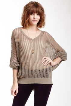 Jack by BB Dakota Linden Loose Open Knit Sweater by Non Specific on @HauteLook
