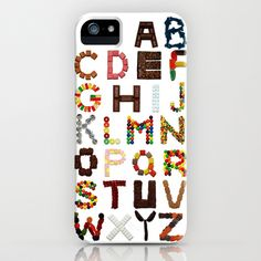 Candy Alphabet iPhone Case by Mike Boon - $35.00