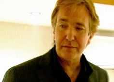 "2001 - Alan Rickman - backstage at the Amnesty show, We Know Where You Live, in which he performed in the ""The Four Yorkshiremen"" sketch alongside Eddie Izzard."