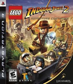 Lego Indiana Jones 2: The Adventure Continues - Playstation 3 #LucasArts