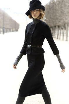 sweater turtleneck under suit - Christian Dior Pre-Fall 2012