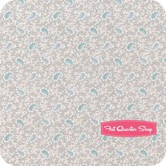 Put Your Heart In It Tan Tiny Paisley Floral Yardage SKU# 7606-46 - Fat Quarter Shop