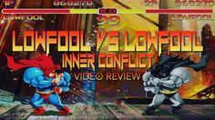 A video review of Fools Paradise's Lowfool vs Lowfool - Inner Conflict sculptural set, a pop art designer toy parody using strong Superman imagery.
