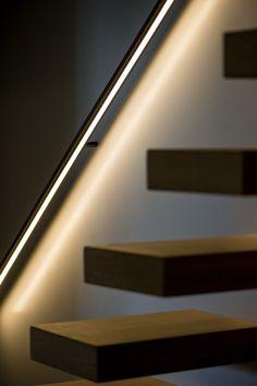 Decotrap - Trapleuning met LED verlichting 2 | || home - stairway to ...
