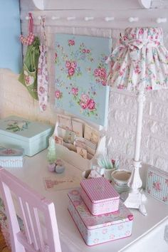 Shabby workspace with greengate ❤