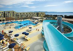 Get the most of your trip to Croatia with the Zadar hotel deals of Falkensteiner Family Hotel Diadora. Family Resorts, Top Travel Destinations, Water Slides, Hotel Deals, Hotel Reviews, Hotel Offers, Strand, Trip Advisor, Vacation