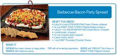 Barbecue Bacon Party Spread