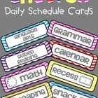 Your+students+will+always+know+what+to+expect+from+their+day+with+these+Daily+Schedule+Cards.+Keep+yourself+and+your+students+organized!  This+pack...