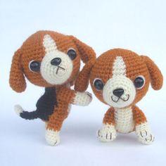Beagle Puppy Amigurumi Pattern - FREE
