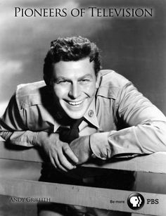 "When Andy Griffith got his own show, it quickly became known as one of the friendliest places in Hollywood to work. That easygoing atmosphere translated on-screen, and ""The Andy Griffith Show"" became one of the most beloved shows in history—thanks to a star who made us all feel at home. (Photo courtesy PBS Pioneers of Television)"