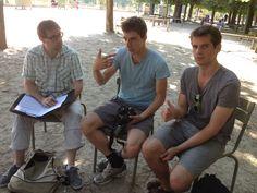 Séance de formation au tournage - familiarisation avec l'appareil (été 2013)