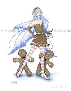 HOLIDAY GALLERY - HOLIDAY PRINTS - Amy Brown Fairy Art - The Official Gallery