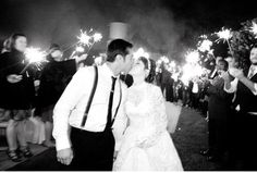 I adore this photo with the sparklers!!! <3 <3 <3