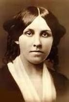 """Louisa May Alcott was born November 29, 1832. As an adult, she was a feminist, abolitionist, and a nurse in a Union hospital during the Civil War. She wrote adult novels before discovering her knack for writing to all age groups describing day to day life during a simpler time. She was part of a group of female authors who addressed women's issues in a modern and candid manner. Louisa died in 1888 and is buried on """"Author's Ridge"""" in Concord."""