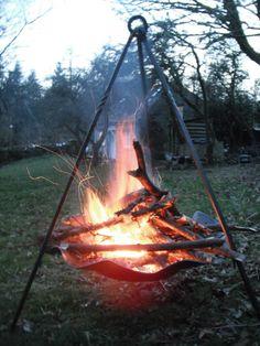 Wrought iron work, metalworking & blacksmith - Iron Fire Pits