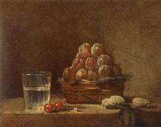 Basket of Plums, 1759 Jean-Baptiste-Simeon Chardin Plum Jeans, Plum Paint, Jean Baptiste, Prune, Painting Still Life, Art Database, Oeuvre D'art, Great Artists, Les Oeuvres