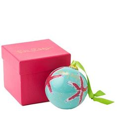 Lilly Pulitzer Christmas Ornaments