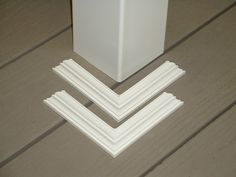 Post/Pillar Wrap - makes your ugly porch posts look better. 4x4x8 $37.00 each. Post skirt is 1.60 each set