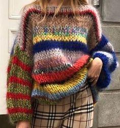 Knitting Blogs, Knitting Designs, Hand Knitting, Knitting Patterns, Crochet Cardigan, Knit Crochet, Mohair Sweater, How To Purl Knit, Sweater Shop