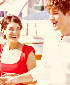 I wanna have relationship like theirs :). Cutest couple on the show