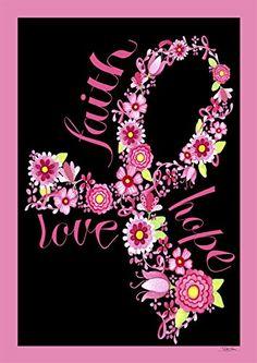 Trademark Fine Art Pink Ribbon Floral Canvas Art by Jennifer Nilsson, Size: 24 x Assorted Breast Cancer Art, Breast Cancer Quotes, Breast Cancer Support, Breast Cancer Survivor, Breast Cancer Awareness, Breast Cancer Tattoos, Pink Ribbon Tattoos, Farmasi Cosmetics, Crafts
