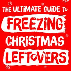 Instead of throwing away your Christmas leftovers, freeze them. You may be surprised by just how many Christmas foods can be frozen. Frozen Christmas, Christmas Foods, Freezing Eggs, Food Articles, Freeze, Love Food, Cooking Tips, Recipies, Egg Yolks
