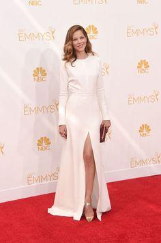 Michelle Monagham by GIAMBATTISTA VALLI [Emmy Awards 2014]