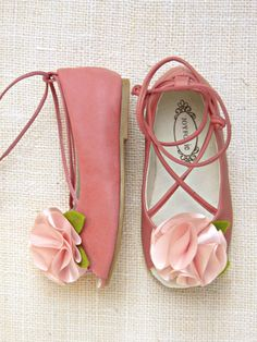 Take a look at this Pink Kaila Peep-Toe Flat - Girls by Joyfolie on today! Baby Girl Shoes, My Baby Girl, Baby Love, Girls Shoes, Flower Girl Shoes, Flower Girls, Little Doll, Little Girls, Little Girl Fashion