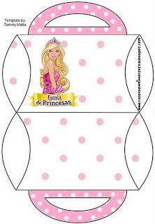 Kit Imprimir Barbie Princesas
