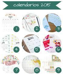 calendario mensual 2015 para imprimir - Buscar con Google