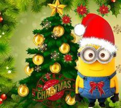 minion christmas tree - Google Search