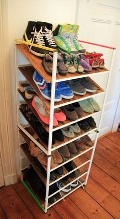 ANTONIUS shoe storage -IKEA hacks