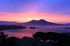 Mt. Vesuvius Sunrise