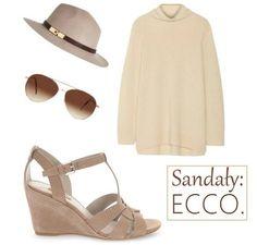 Sandały na koturnie ECCO wykonane ze skóry naturalnej w cielistym kolorze to fantastyczny wybór na wiosnę/lato! Wygoda i moda w jednym. :-)