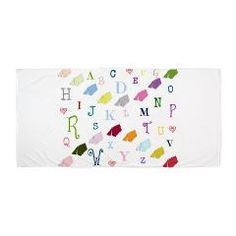 Abc Tents Beach Towel> ABC Tents> DrapeStudio- see all of our products with this fun design in our shops www.cafepress.com/drapestudio and www/society6.com/drapestudio and www.zazzle.com/drapestudio and www.etsy.com/shop/drapestudio OR visit our main site www.drapestudio.com for great home dec and gift ideas