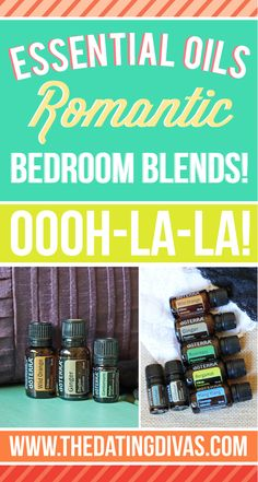 Essential Oils in the Bedroom