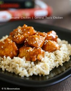 {Recipe} Recreating this Restaurant Style General Tso's Chicken and Sesame Chicken at home!