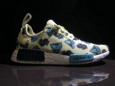 premium selection 45d64 91df3 Adidas NMD R1 X Billionaire Boys Club Yellow Black Ba7762 New Arrival Shoe  Popular Sneakers,
