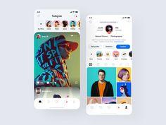 Instagram Redesign 2020 by Manuel Rovira