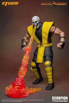 Storm Collectibles Released New Images For Their 1:12 Klassic Series Mortal Kombat Scorpion Figure