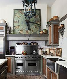 40+ Видов настенных часов на кухню: счастливые минуты и часы в уютном доме…
