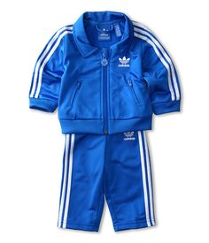 adidas Originals Kids Infant Firebird Tracksuit (Infant/Toddler)