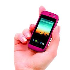"""New Mini SmartPhone 4G Smallest Android Mobile Phone 2.4"""" (Great for Kids) Pink #PoshMobile #Smartphone"""